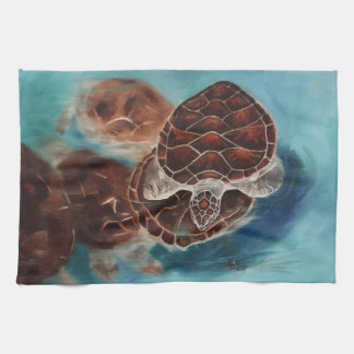 Turtle Time Kitchen Towels