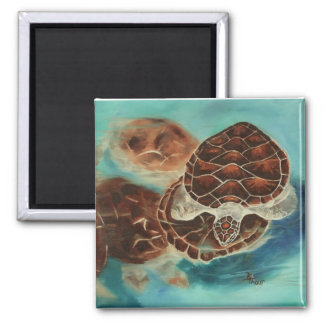 Turtle Time Magnet