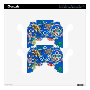 Turtle Time PS3 Controller Skins