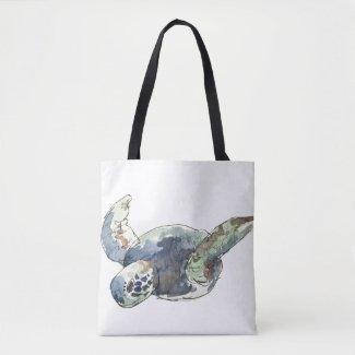 Turtle Tote Beach - Bag Oceans Seas Nature lovers