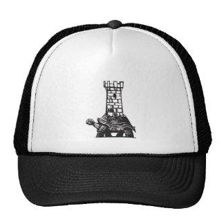 Turtle Tower Trucker Hat