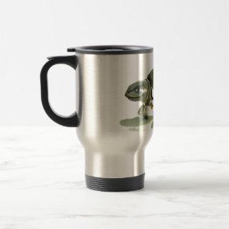 Turtle traditional Sumi-e in color Mug