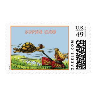Turtle Turf Postage Stamp