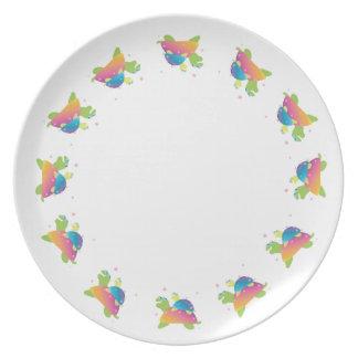 Turtle Turtle Dinner Plate
