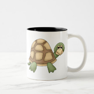 Turtle Two-Tone Coffee Mug