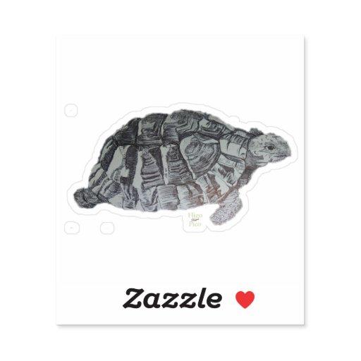 turtle vinyl sticker