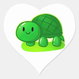 Turtle Wax Heart Sticker