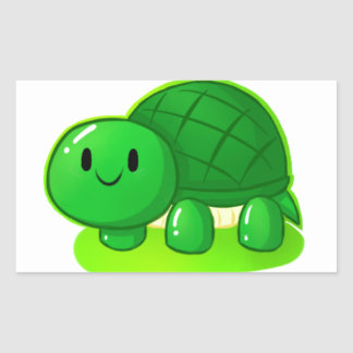 Turtle Wax Rectangular Sticker
