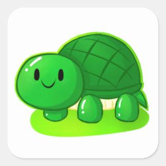 Turtle Wax Square Sticker