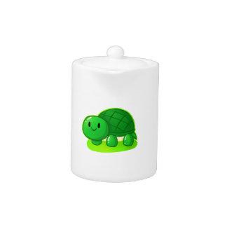 Turtle Wax Teapot