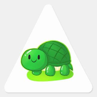 Turtle Wax Triangle Sticker