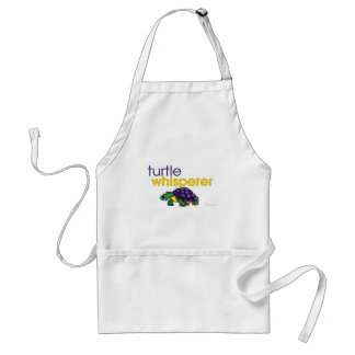 Turtle Whisperer Adult Apron