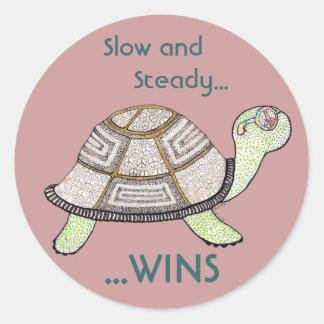 Turtle Winner Sticker