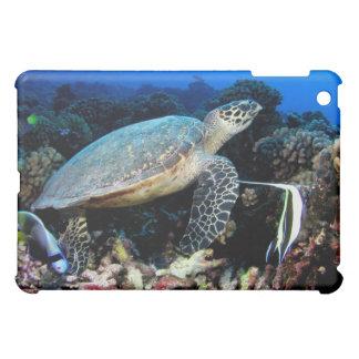 Turtle with Fish for iPad iPad Mini Covers