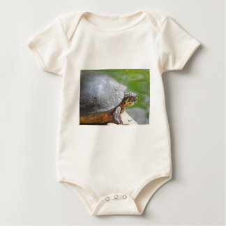 Turtle with Hard Shell Bodysuits