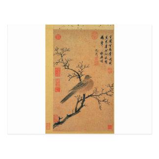 Turtledove que pide lluvia de Shen Zhou Postal