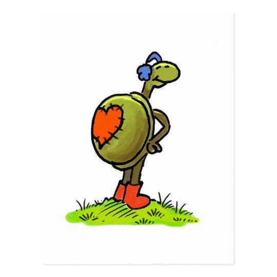 turtlelove simple postcard
