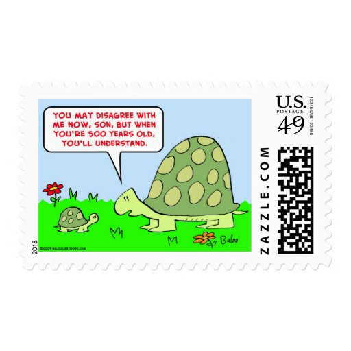 turtles 500 years old stamp