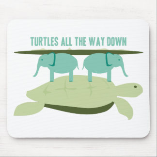 Turtles all the Way Down Mouse Pad