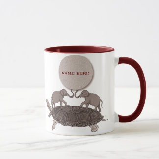 Turtles All the Way Down Mug