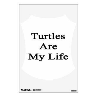 Turtles Are My Life Room Graphics