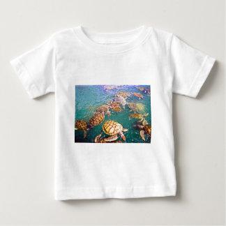 Turtles at Play Baby T-Shirt