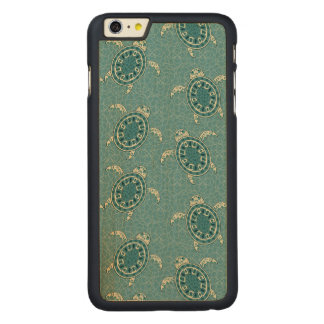 turtles background carved maple iPhone 6 plus case