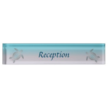 Turtles Beach Style Desk Name Plate