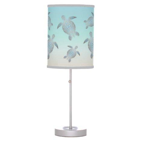 Turtles Beach Style Elegant Maritime Table Lamp