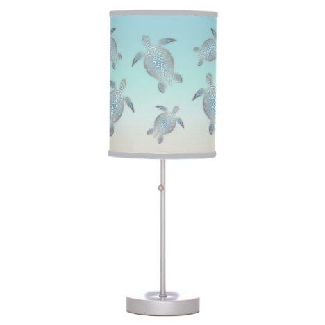 Turtles Beach Style Table Lamp
