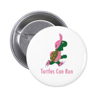 Turtles Can Run 2 Inch Round Button