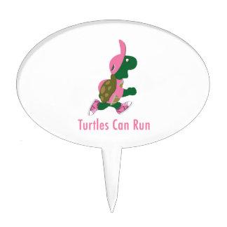 Turtles Can Run Cake Topper
