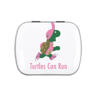 Turtles Can Run Jelly Belly Candy Tins