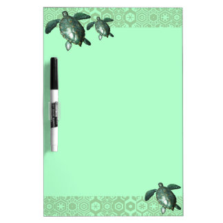 Turtles Dry-Erase Board