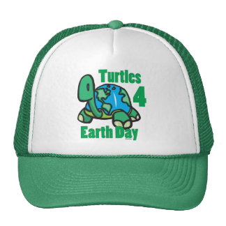 Turtles for Earth Day Hat