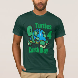 Turtles for Earth Day T-shirt