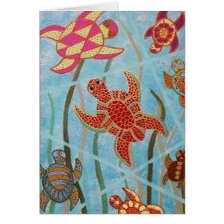 Turtles Galore Card