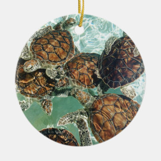 Turtles in Mexico (Kimberly Turnbull Photography) Ceramic Ornament