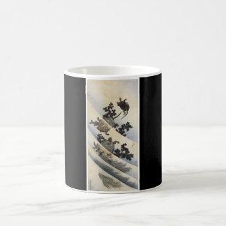 Turtles Japanese Art cup