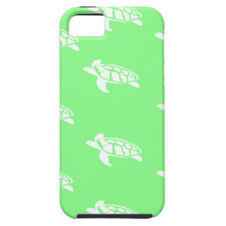 Turtles on Sea Green iPhone SE/5/5s Case
