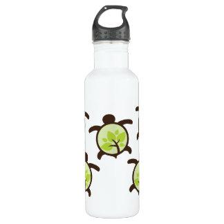 Turtles Organic Planet Aluminum Stainless Steel Water Bottle