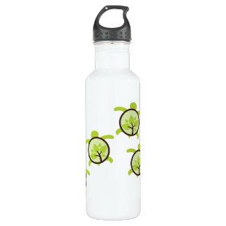Turtles Organic Planet Aluminum Water Bottle