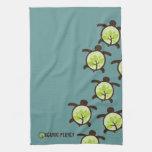 Turtles Organic Planet Custom Kitchen & Bath Towel