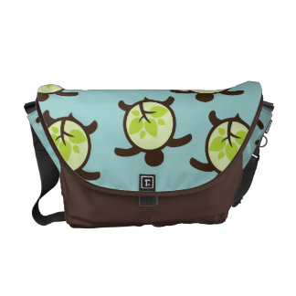 Turtles Organic Planet Custom Messenger Bags