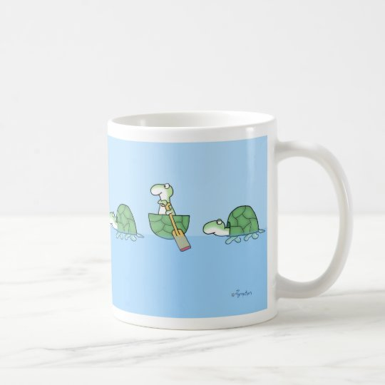 TURTLES PADDLING mug by Sandra Boynton