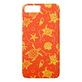 Turtles Pattern iPhone 7 Plus Case