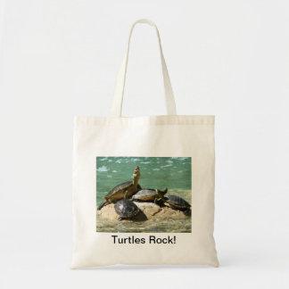 Turtles Rock! Canvas Bags