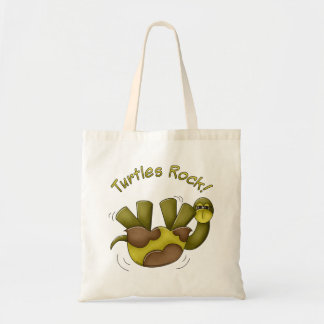 Turtles Rock Tote Bag