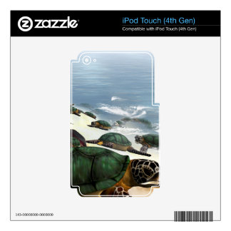 Turtles iPod Touch 4G Skins