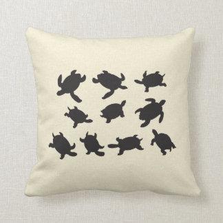 Turtles Throw Pillow
